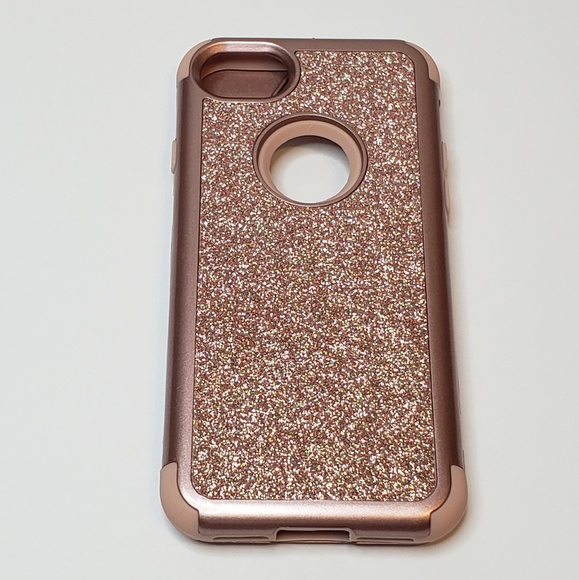 more photos 5bf98 23cad NEW Rose Gold Sparkle Iphone 7 Iphone 8 Case NWT